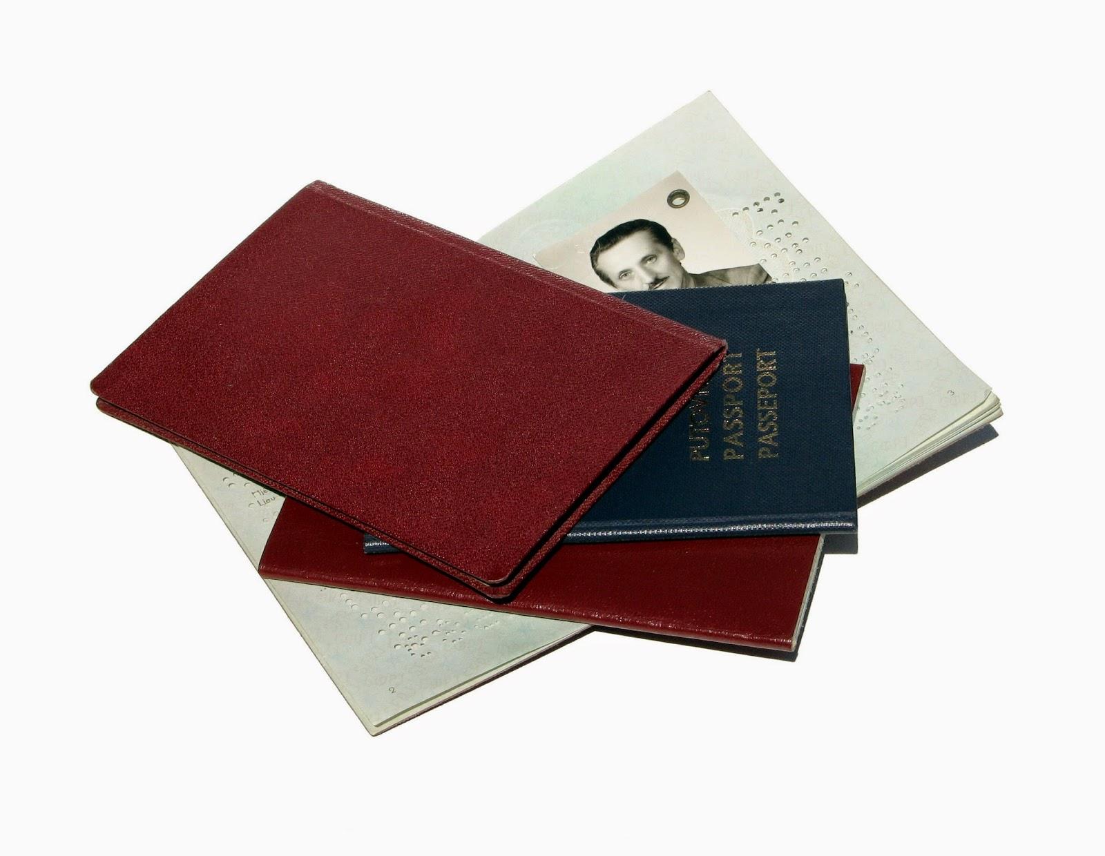 Old passports