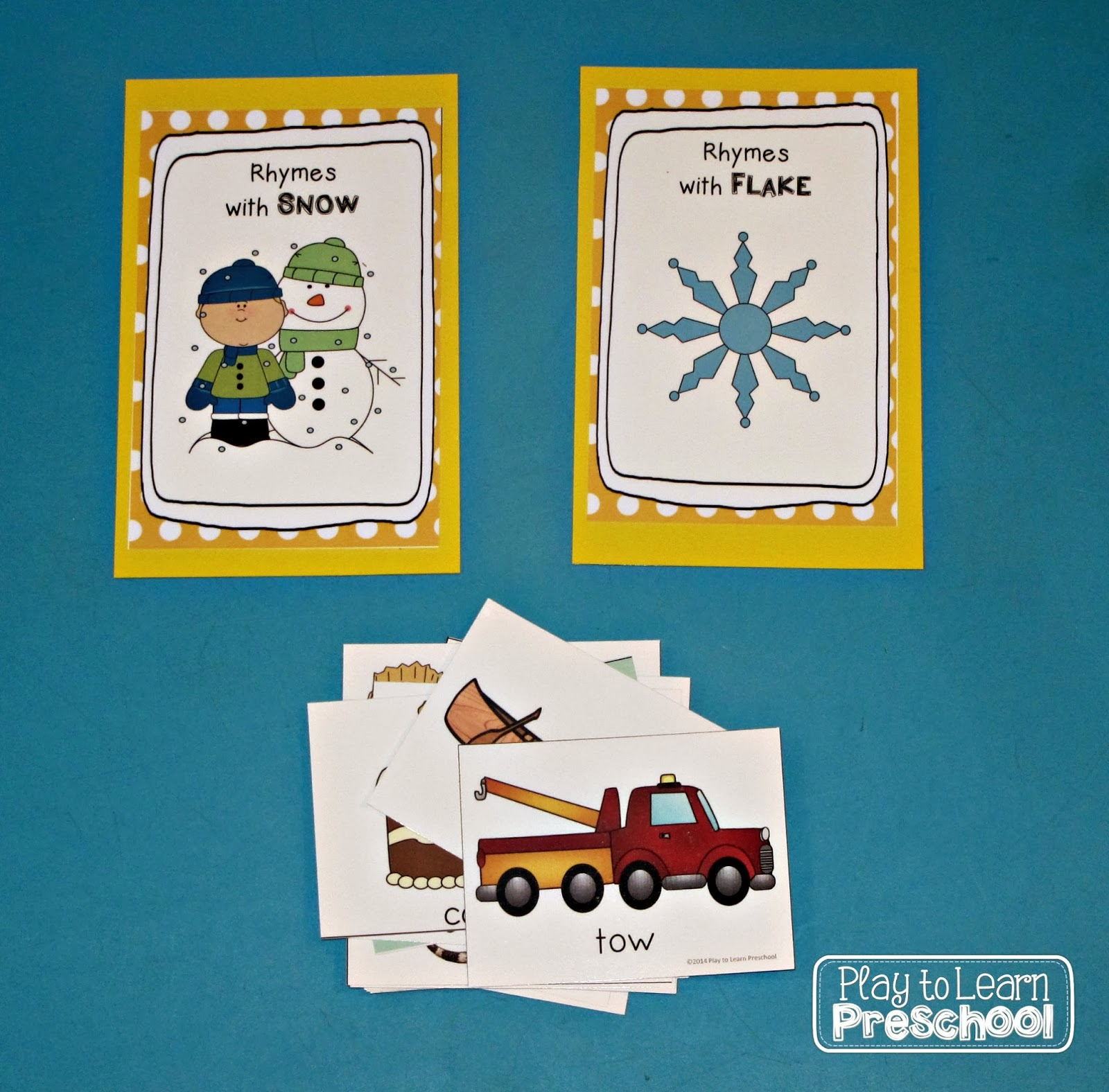 Winter Center Activities - Play to Learn