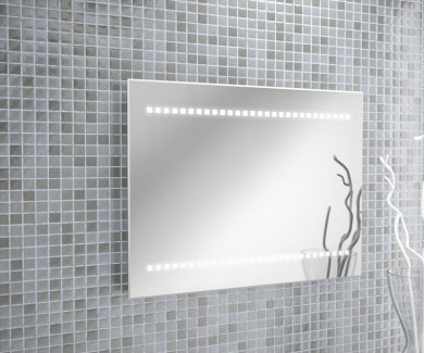 espejo baño salgar led