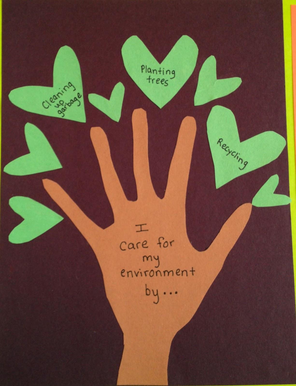 environment essays children