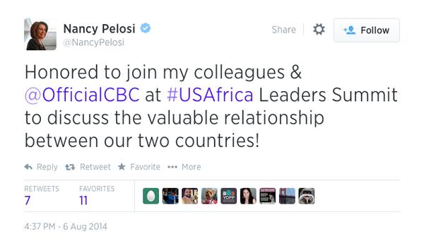 Nancy Pelois I Believe Natural Gas