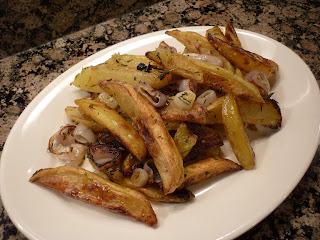 Crispy Baked Red Potato Fries