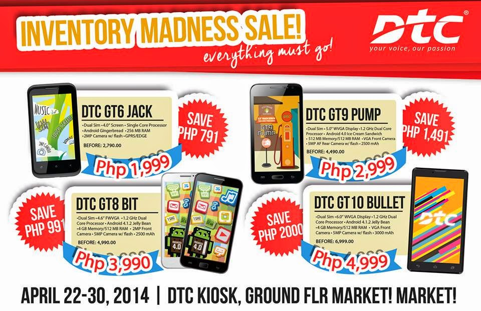 DTC Inventory Madness Sale!