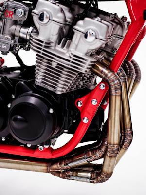 Honda CB750 Escapes a medida