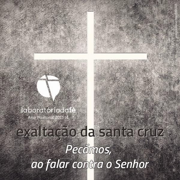 Celebrar o domingo da Exaltação da Santa Cruz (14 de setembro), no Laboratório da fé, 2014
