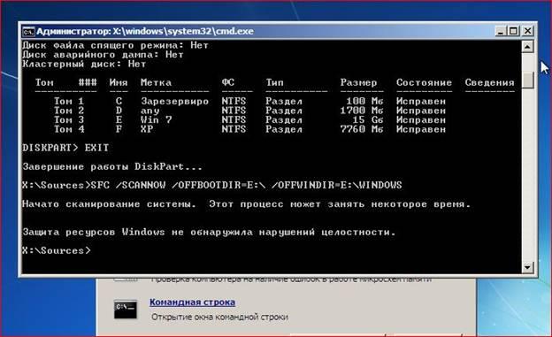 программа для проверки целостности файлов windows