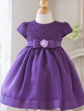 Vestidos para Bebe, Purpura