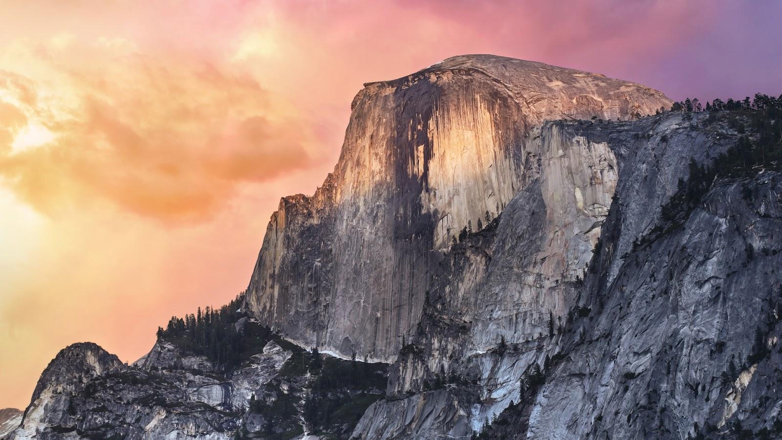 Fondo de pantalla de OS X Yosemite para Mac