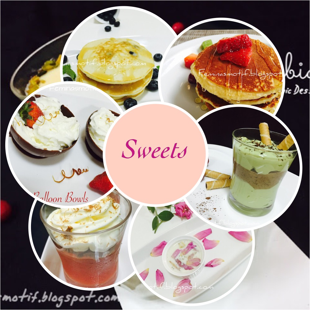 SWEET RECIPES
