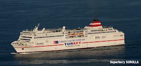 TURKISH FLOATING EXHIBITION - Promoção da Turquia num super ferry