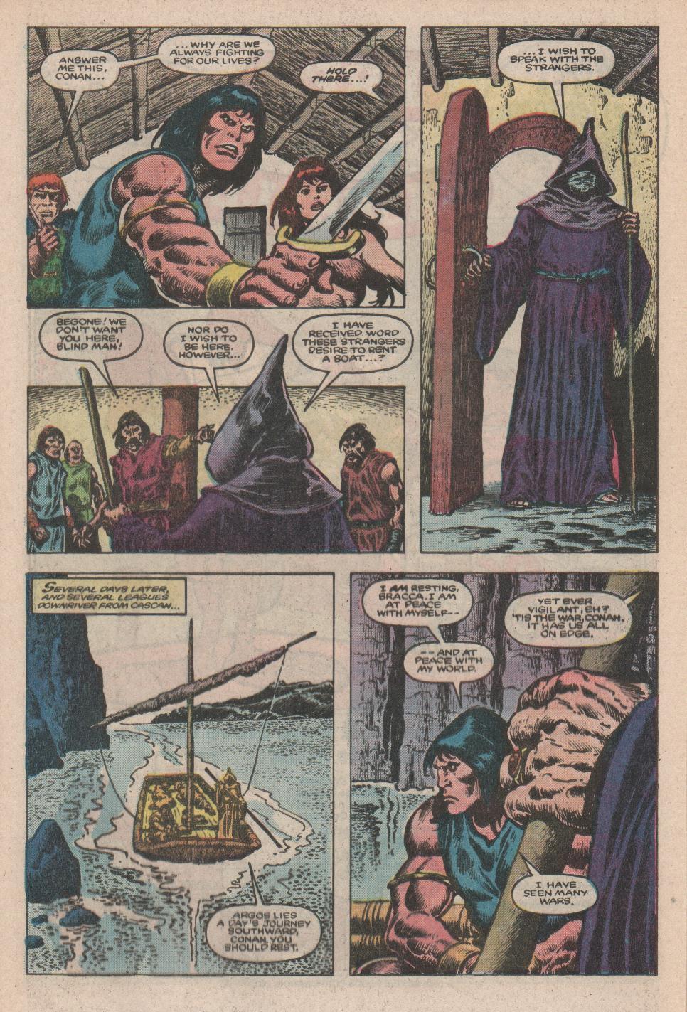 Conan the Barbarian (1970) Issue #175 #187 - English 9