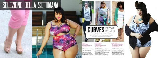 news curvy e plus size della settimana