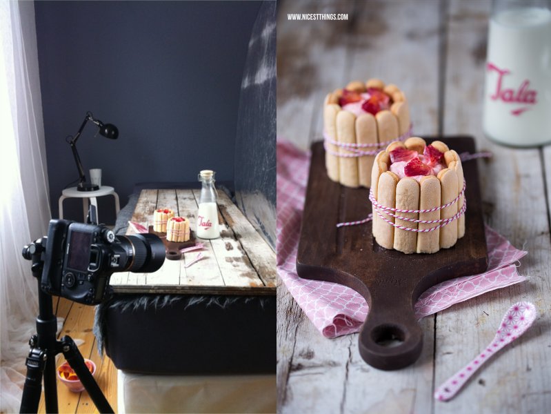 Setting für Foodshooting