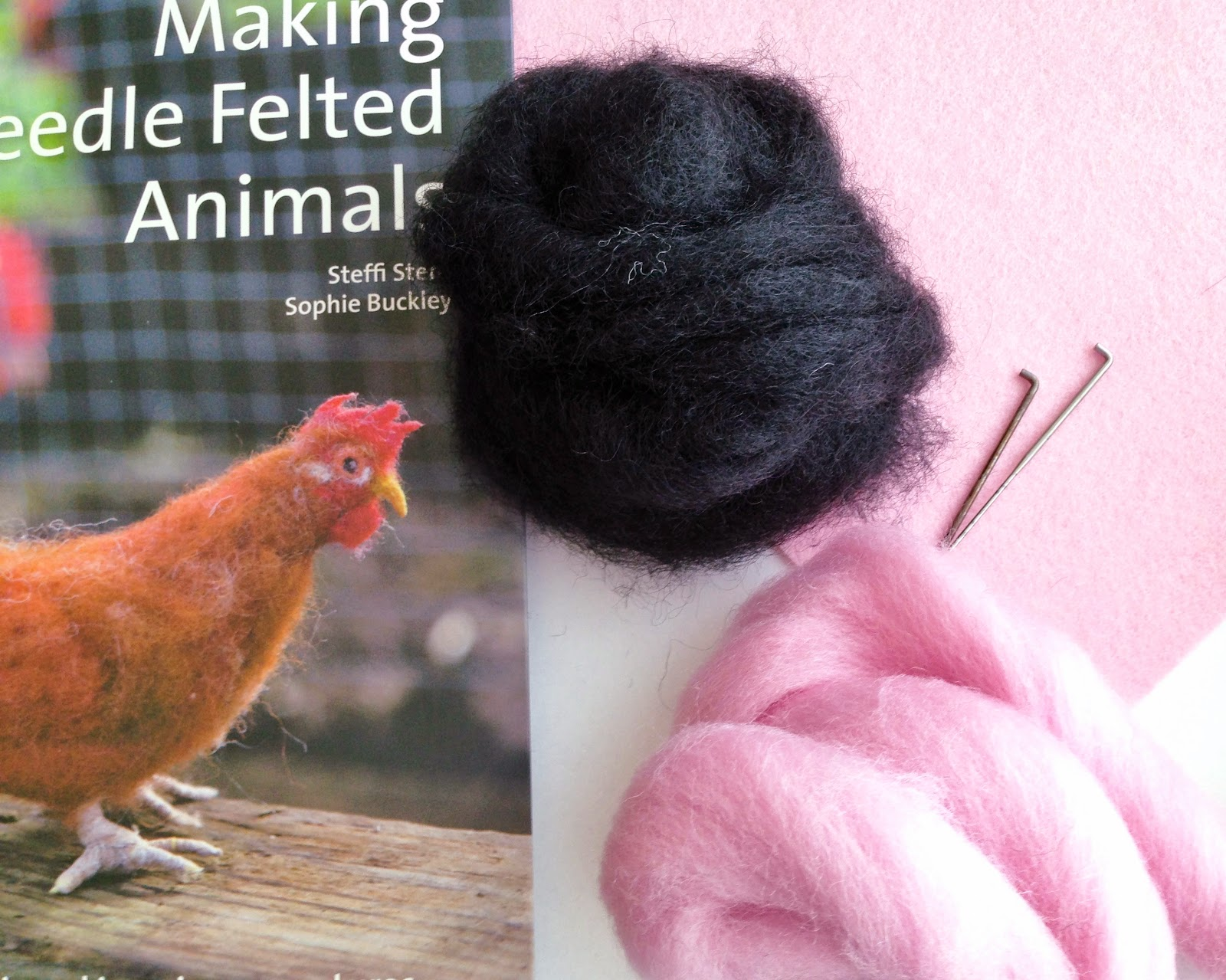 needle felted animals instructions