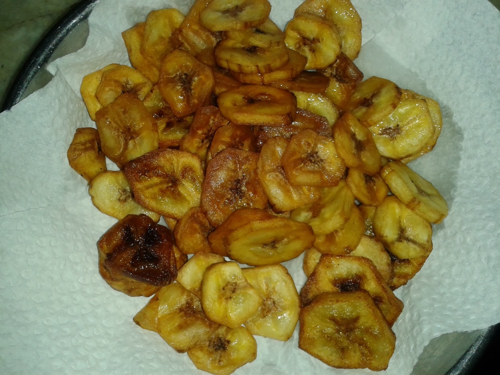 how to make dehydrated banana chips crispy