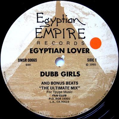 Egyptian Lover – Dubb Girls (1985, VLS, 320)