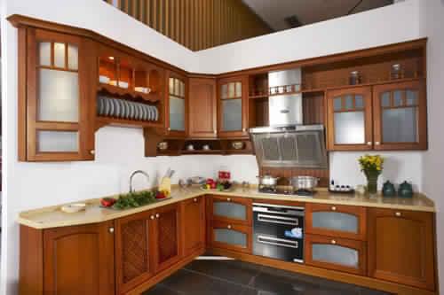 Meuble de cuisine en bois moderne  Meubles de cuisine