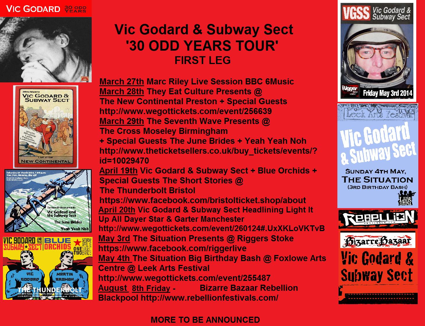 Vic Godard Subway Sect Split Up The Money