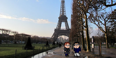 Casal Geek Eurotour 2013 - Descobrindo Paris - Cathédrale Saint-Louis des Invalides e Torre Eiffel