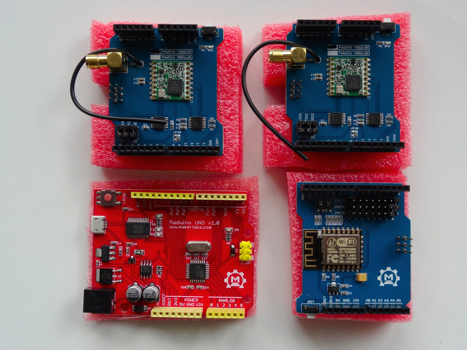 Mitov Software Just Received A Maduino Esp8266 Wifi Shield And 2 Circuit Prototyping As You Can See From The Pictures Modules Are Of Exceptionally Good Quality This Matches My Experience With Arduino Gps Previously Donated