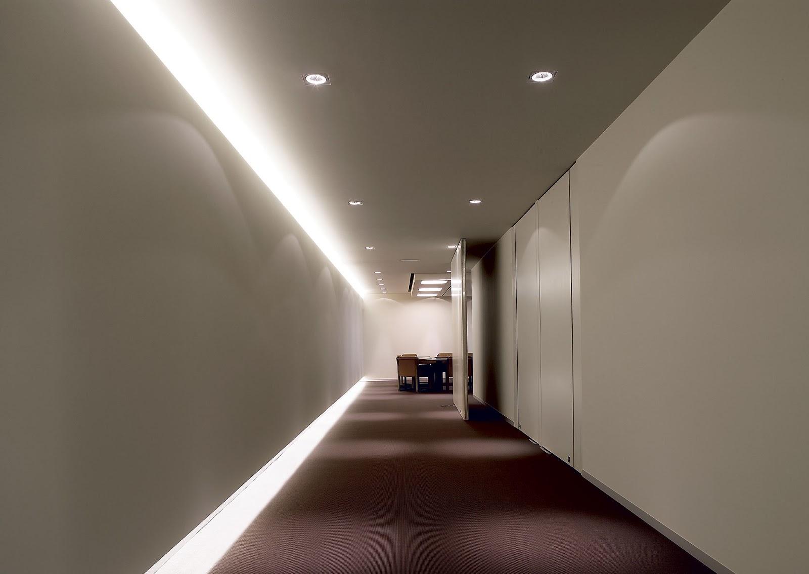 Delta light latin america hospitality pasillos for Diseno pasillos interiores