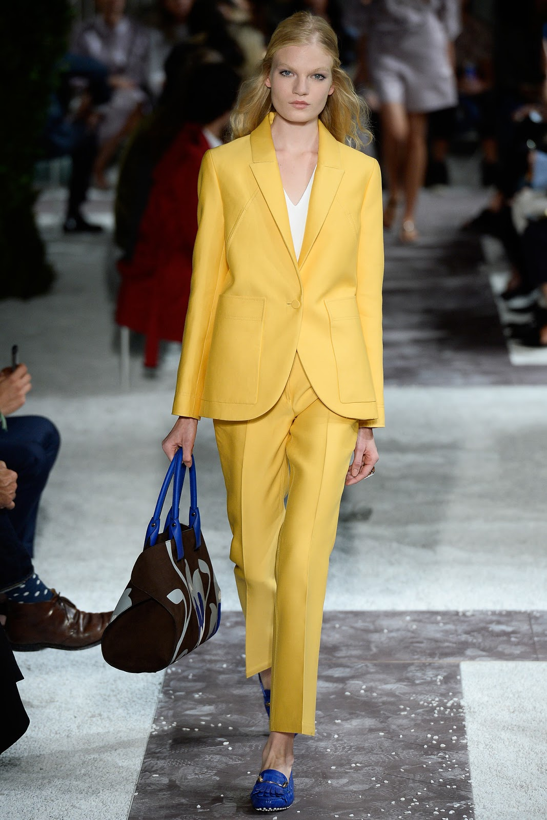 Tod's / Spring/Summer 2015 trends / trouser suit / styling tips and outfit inspiration / via fashioned by love british fashion blog