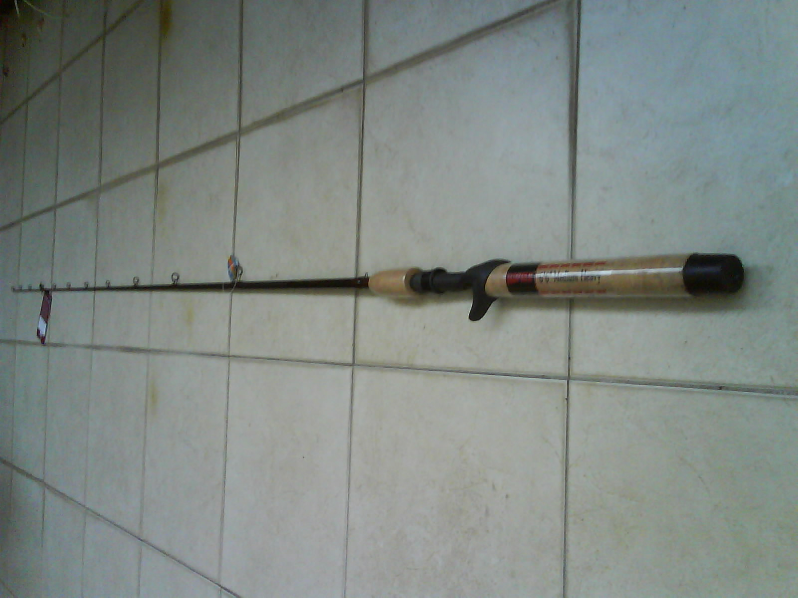 Mecangkuk rapala baitcaster fishing rod 1 piece 6 39 6 8 for Baitcaster fishing rod