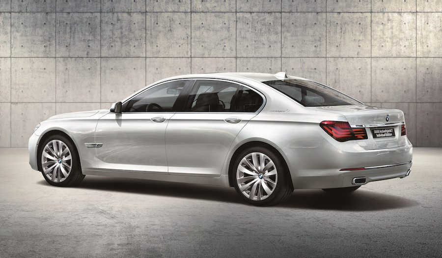 BMW 7シリーズの限定車「アクティブハイブリッド7 Individual Edition」