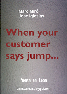 Ebook epub When your customer says jump... Piensa en Lean | Marc Miro