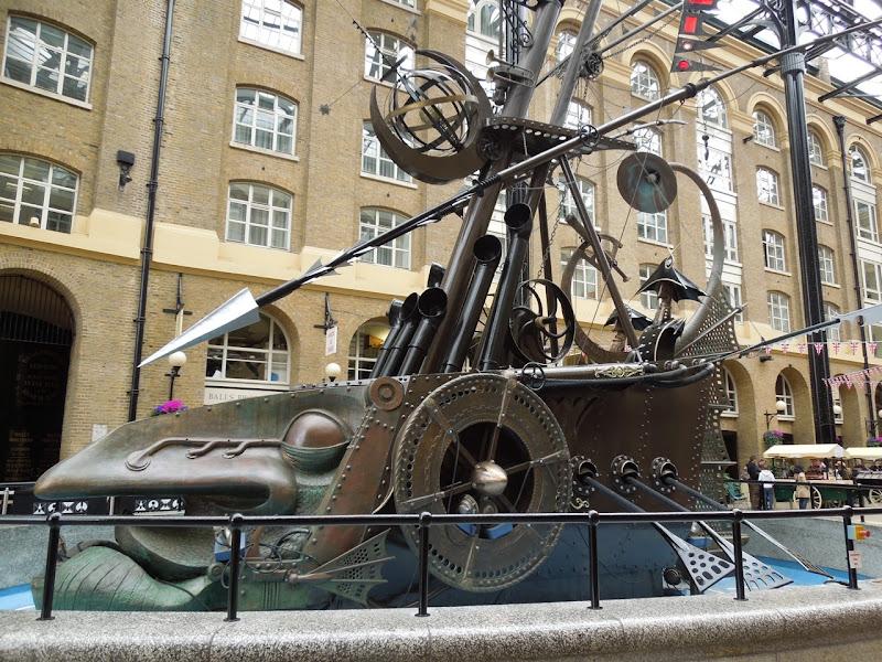 Navigators ship sculpture David Kemp