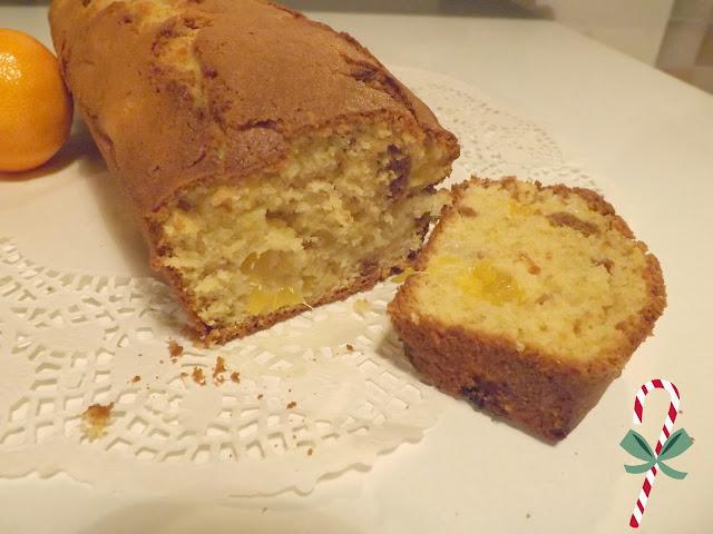 Cake, clémentine, dessert