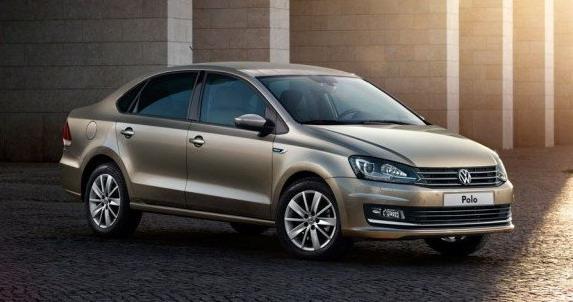 新型「Polo Sedan」のフロント画像その3