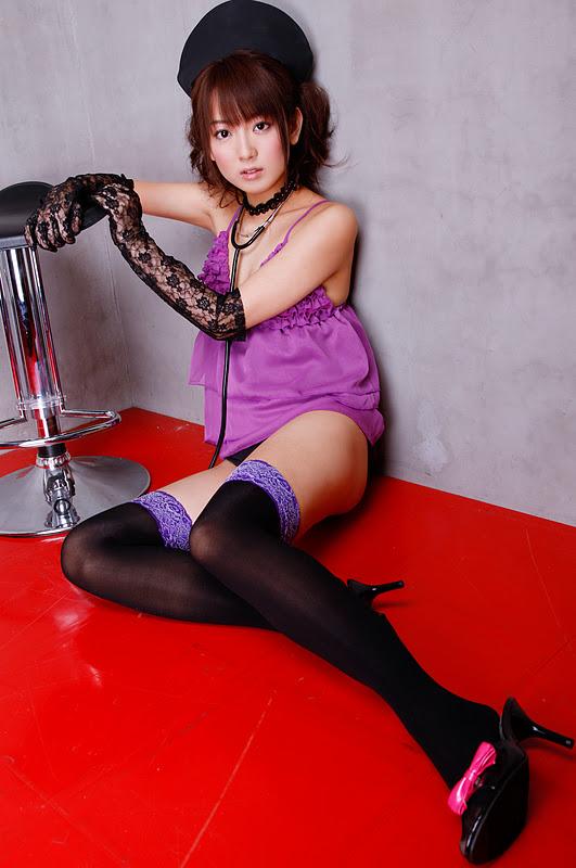 ExciteBlog » Yukari Sato Sexy in Purple 15
