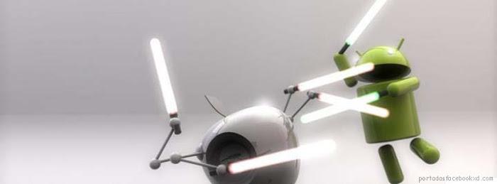 apple, android, imagen de portada facebook