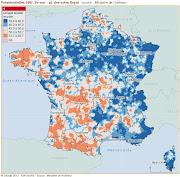 Géographie : de la photo satellite à la carte france europe lã©gende carte