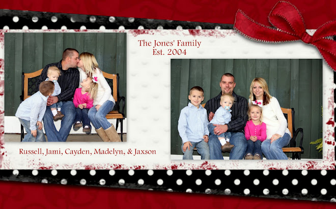 Russell and Jami plus 3 kiddos