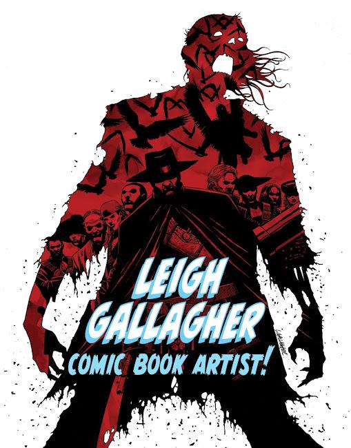 LEIGH GALLAGHER Comic Book Artist