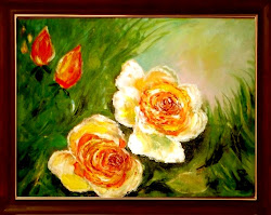Kremowe róże