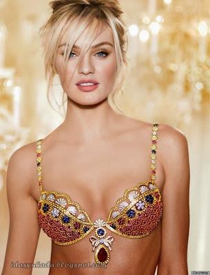 Gambar Bra-Bra Termahal Didunia Keluaran Victoria's Secret