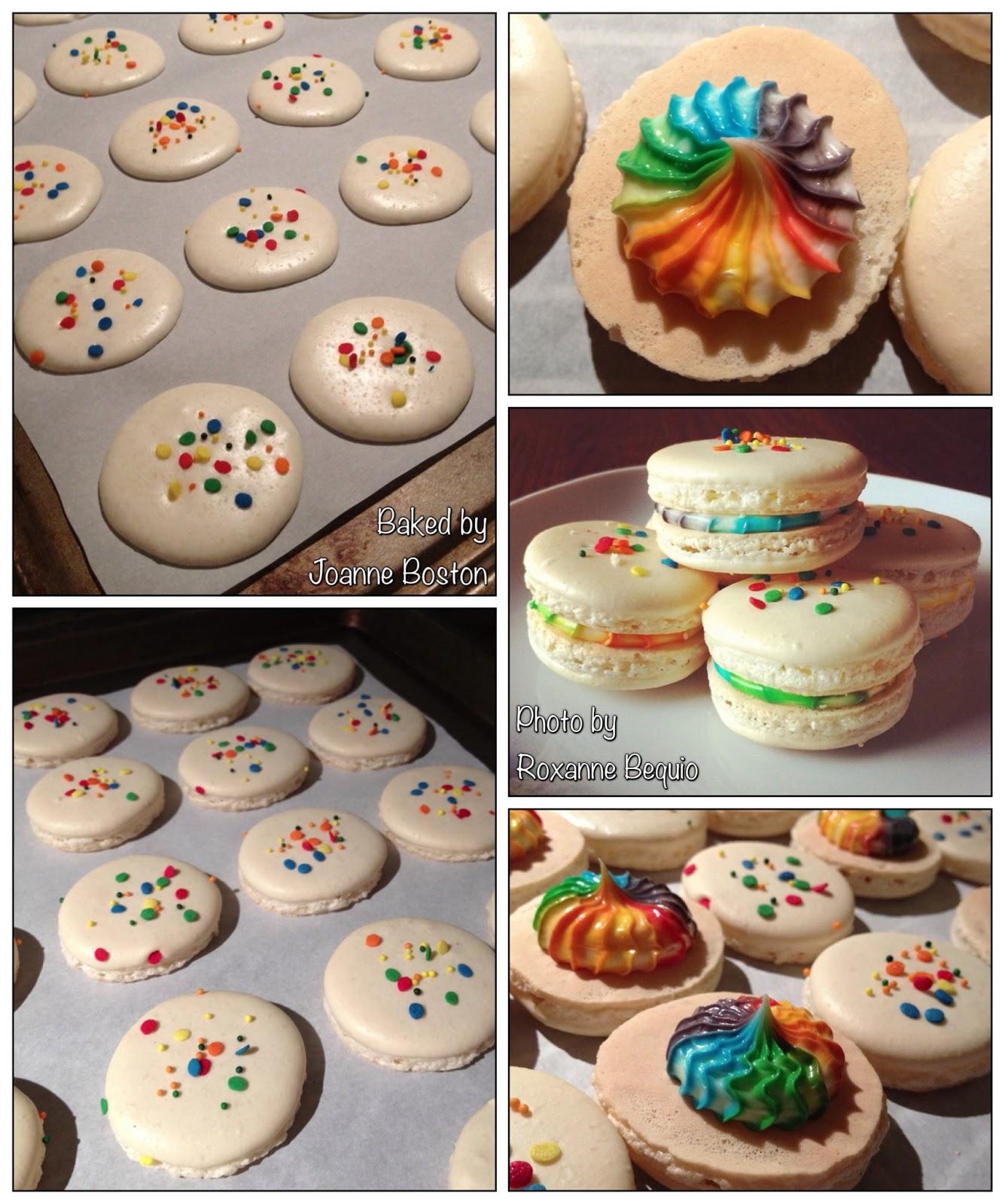 Mahal To The Macs Birthday Cake Macarons