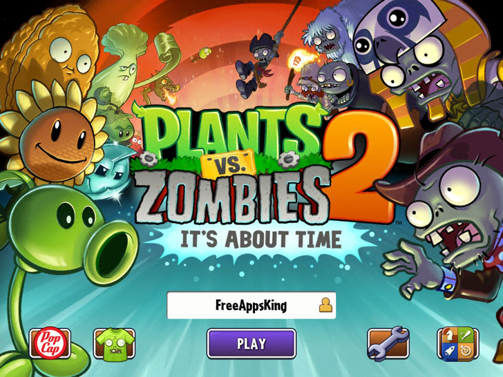Plants vs. Zombies 2 App iTunes App By PopCap - FreeApps.ws