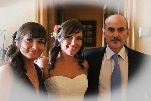 en casa con mi padre y mi hermana