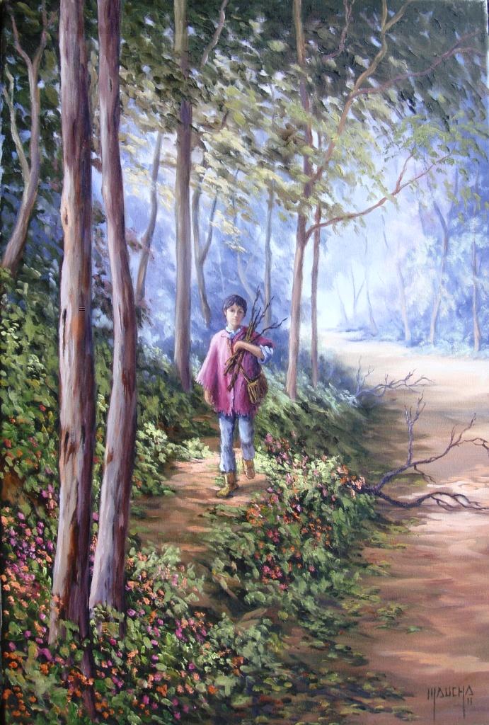 """""""Simplesmente Vida"""" (óleo sobre tela - 60x40 - set 2011)"""