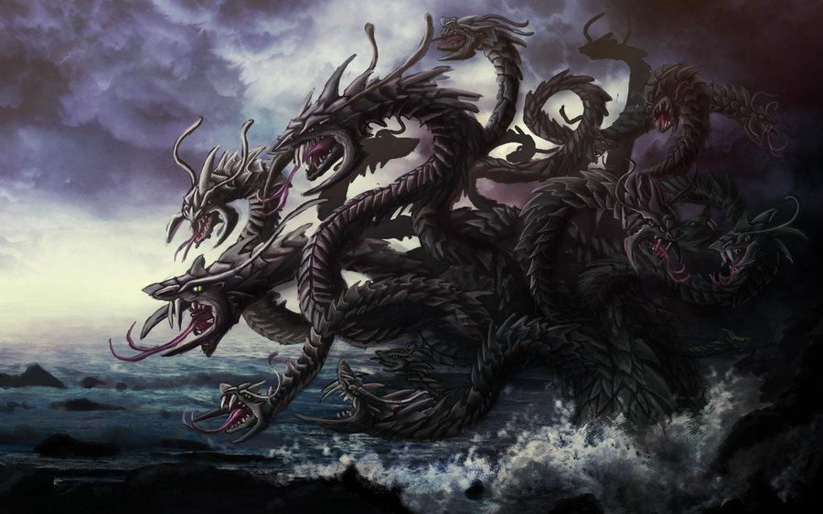 Bestiário - Aquático Hydra_by_Ruth_Tay