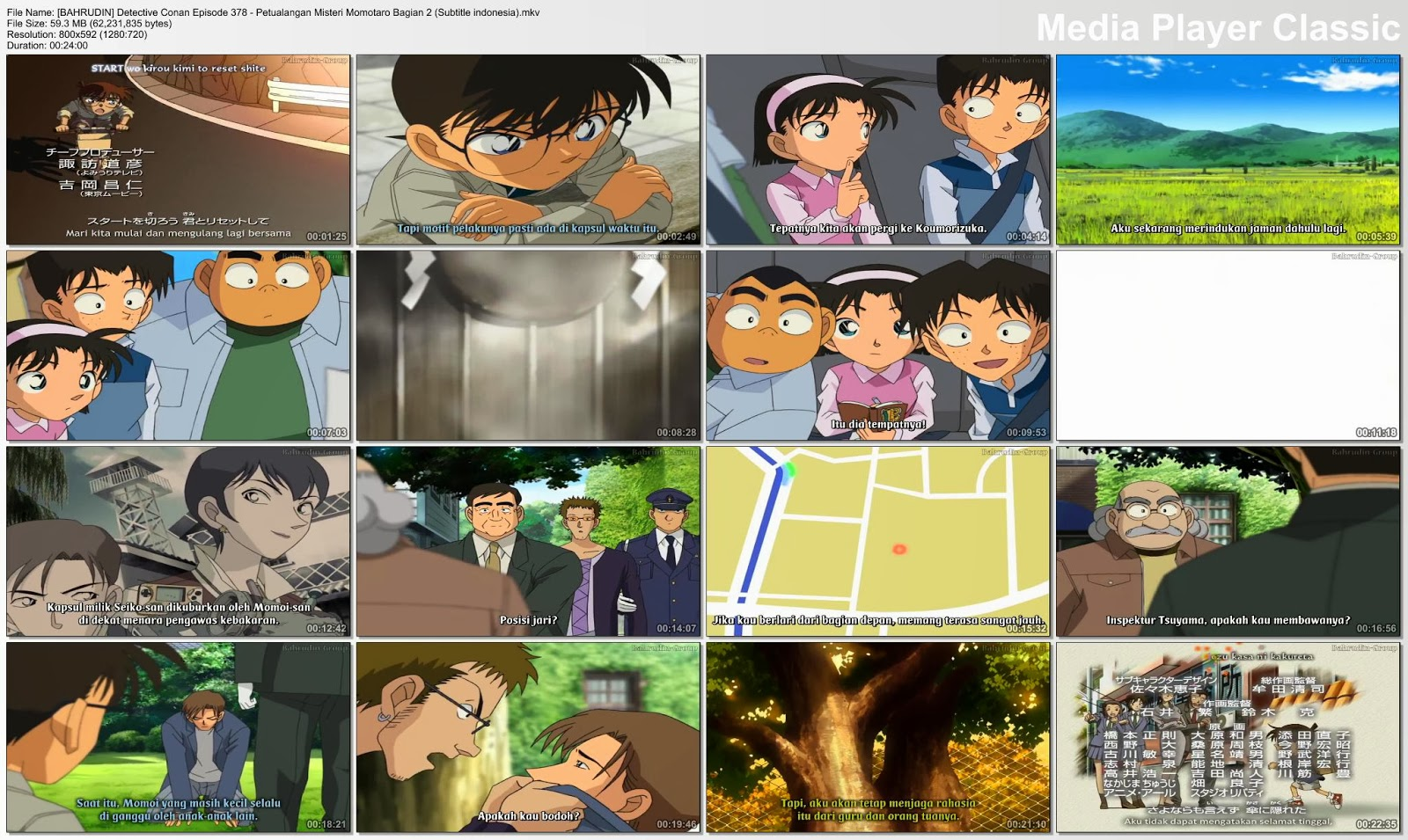 BAHRUDIN] Detective Conan Episode 378 - Petualangan Misteri Momotaro
