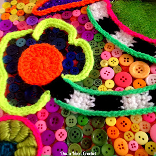 Crochet art by Dada Neon