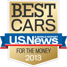 U.S. News & World Reports - 2013 Best Cars for the Money