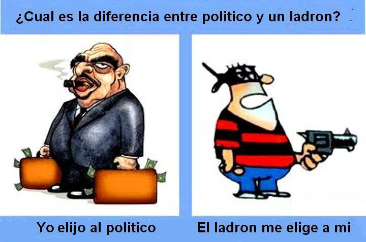 ¿ NECESITAMOS TANTOS POLÍTICOS? Politico+y+ladron