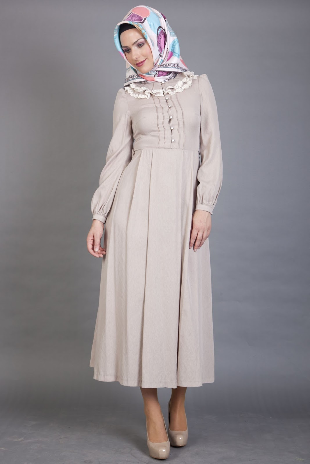 Kapalı Elbise Modelleri armine