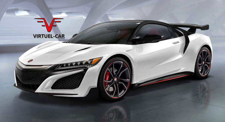 What About This New Acura Honda Nsx Type R Render
